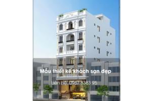 Mẫu khách sạn tân cổ điển đẹp ở Hà Nam