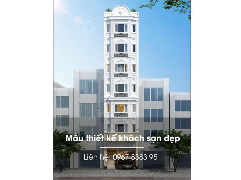 Khách sạn mini 7 tầng đẹp nhất 2020