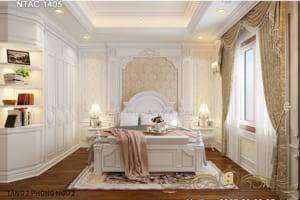 Thiết kế nội thất phòng ngủ NTAC 1405