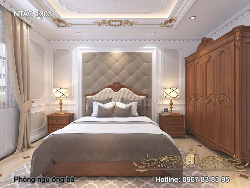Thiết kế nội thất phòng ngủ NTAC 1303