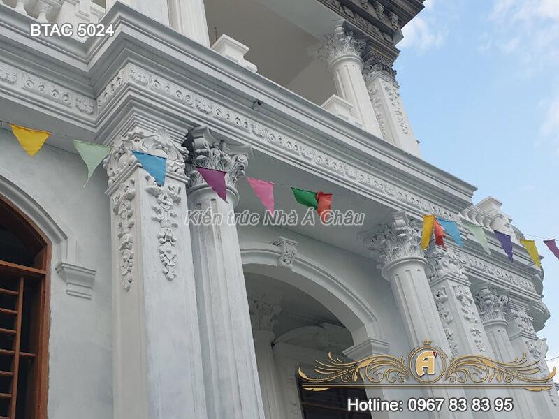 lâu đài 3 tầng cổ điển, Thi Cong Tron Goi Btac 5024 10