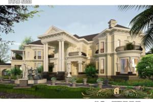 Dinh thự đẹp độc đáo mang phong cách Á Đông BTAC 5033