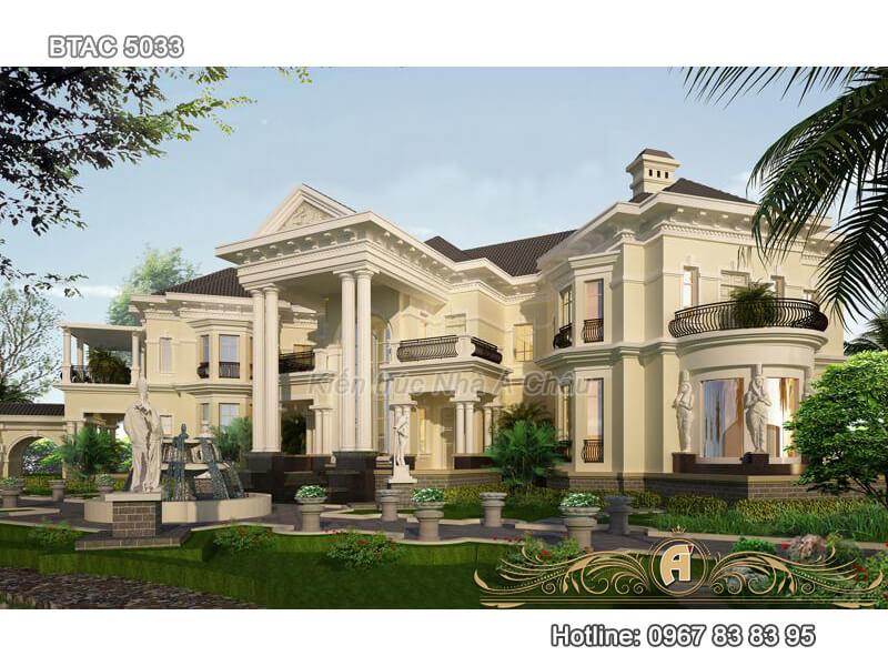 Dinh thự đặc biệt mang phong cách Á Đông BTAC 5033