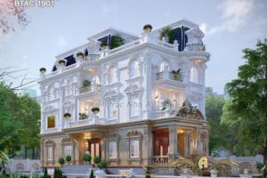 Choáng ngợp biệt thự 3 tầng cổ điển đẹp tại Đồng Nai - BTAC 1901