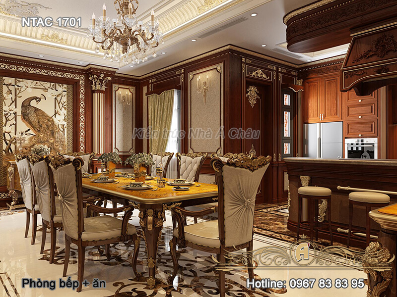 Thiet Ke Noi That Ntac 1701 Phong Bep An 1