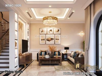 Thiết kế nội thất biệt thự phố Vinhome Ocean Park - NTAC 1926