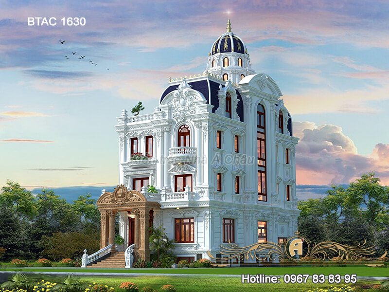 Biet Thu 3 Tang Co Dien Dep Btac 1630 4