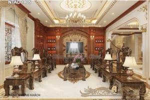 Nội thất bên trong biệt thự siêu sang tại Khánh Hòa - NTAC 1405