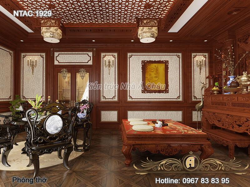 nội thất gỗ gõ đỏ, Thiet Ke Noi That Ntac 1929 Phong Tho 4