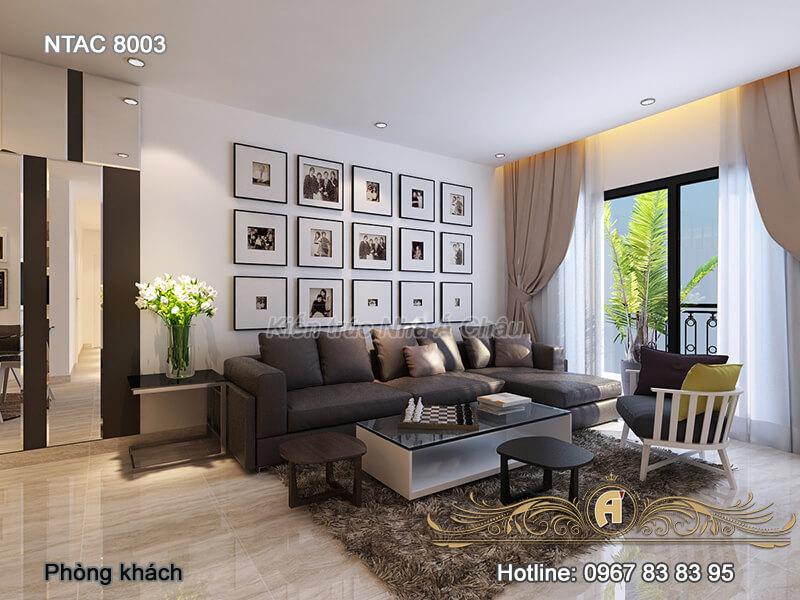 Thiết kế nội thất chung cư tại Hà Nội – NTAC 8003