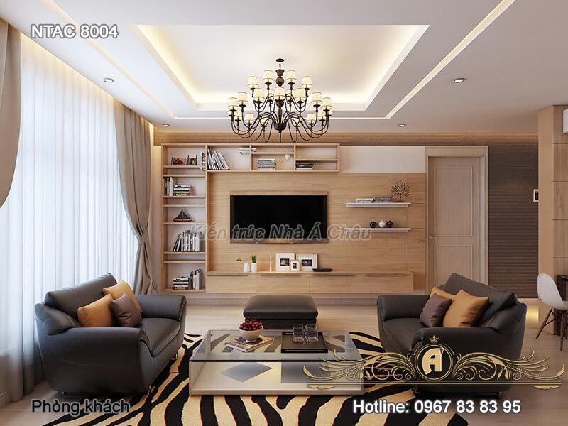 Thiết kế nội thất chung cư tại Bình Dương – NTAC 8004