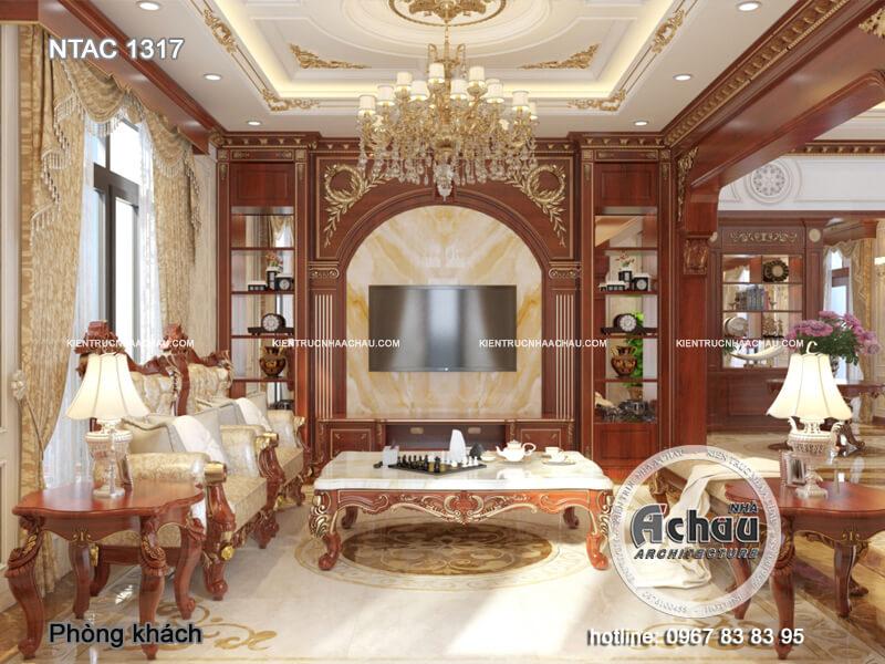 Thiết kế nội thất nhà mặt phố Hà Nội – BTAC 1317