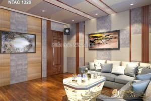 Thiết kế nội thất phòng giải trí NTAC 1326