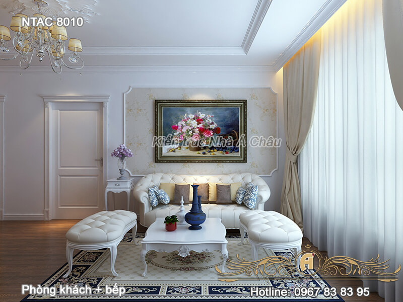 nội thất chung cư 100m2, thiết kếnội thất chung cư 100m2, thiết kế chung cư 100m2, nội thất nhà chung cư 100m2, mẫu thiết kếnội thất chung cư 100m2, Phong Khach Bep Ntac 8010 7