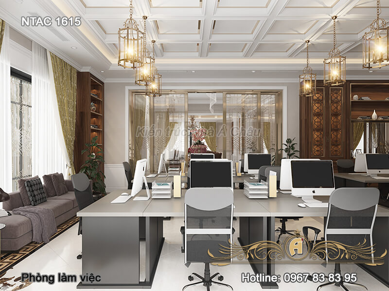 nội thất văn phòng làm việc, Phong Lam Viec 1