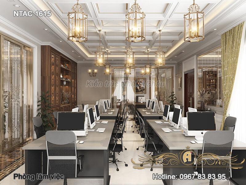 nội thất văn phòng làm việc, Phong Lam Viec 2