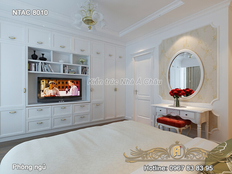 Mẫu thiết kế nội thất chung cư 100m2 - NTAC 8010