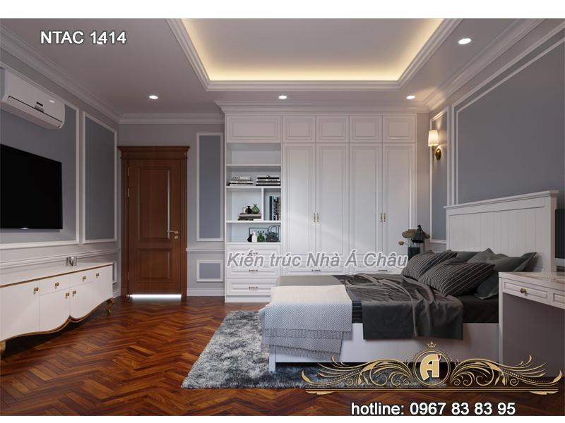 Thiết kế nội thất phòng ngủ NTAC 1414
