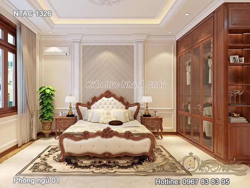 Thiết kế nội thất phòng ngủ NTAC 1326