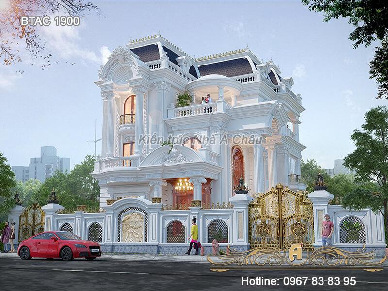Thiet Ke Biet Thu 3 Tang Dep Btac 1900 2