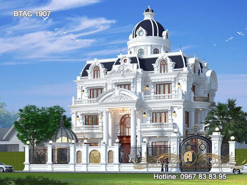 101 Mẫu biệt thự mái Mansard kiến trúc Pháp đẹp mê hồn (P4)