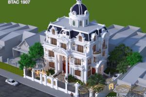 Thiết kế biệt thự đẹp BTAC 1907