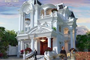 Khám phá mẫu biệt thự tân cổ điển đẹp ở Ninh Bình- BTAC 1903