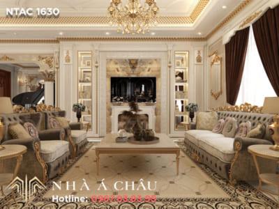 Phong cách nội thất tân cổ điển mẫu NTAC 1630 - Sức hấp dẫn không thể chối từ