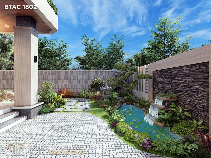 Kiến trúc nhà vườn xu hướng thiết kế trong thời đại mới