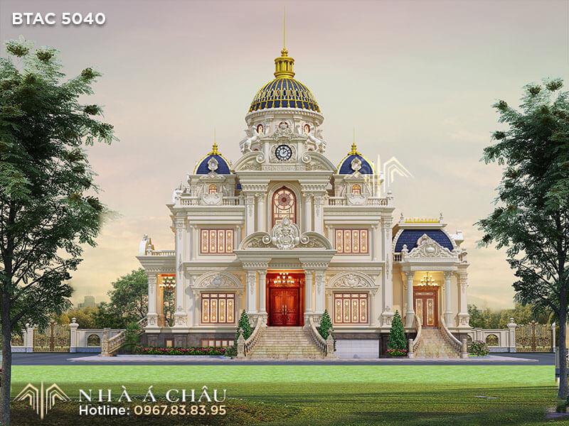 Ngỡ ngàng với vẻ đẹp không ngờ của mẫu nhà đẹp kiến trúc Pháp