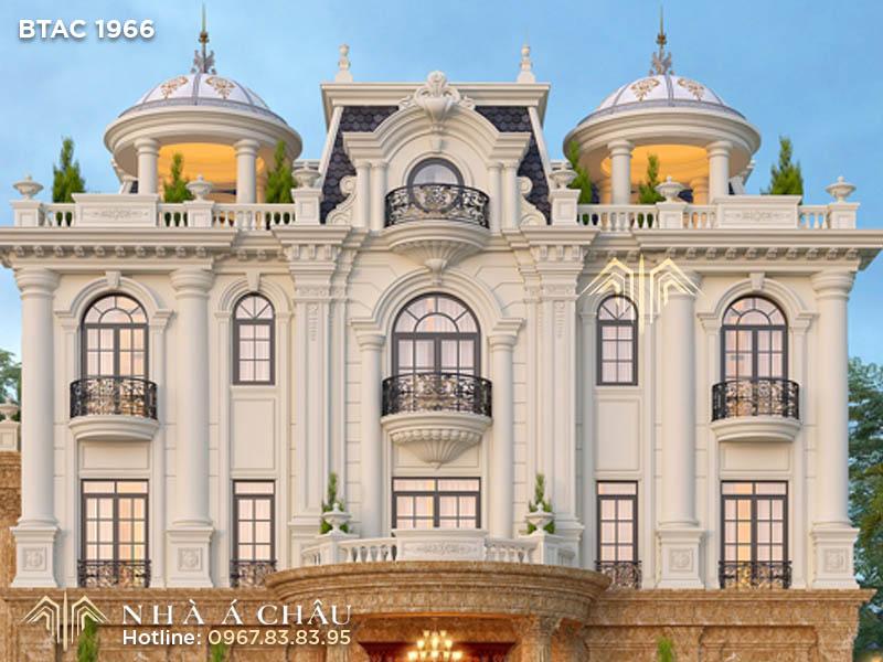 nhà phố 3 tầng tân cổ điển, mẫunhà tân cổ điển 3 tầngđẹp, nhà tân cổ điển 3 tầng2 mặt tiền