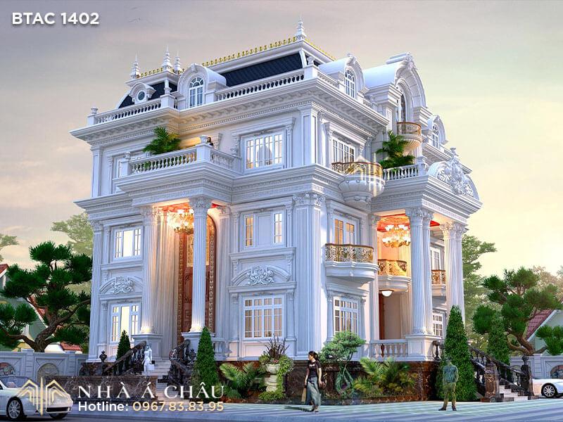 Thiết kế kiến trúc tân cổ điển, Phong cách kiến trúc tân cổ điển, Kiến trúc tân cổ điển Pháp, Phong cách kiến trúc cổ điển
