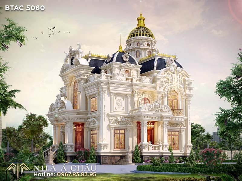 Khám phá lâu đài kiến trúc Châu Âu cổ điển BTAC 5060 nguy nga lộng lẫy