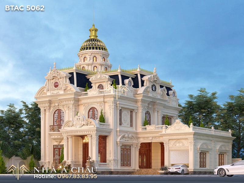 Khám phá nhà kiểu Pháp cổ điển tại Bắc Giang – BTAC 5062
