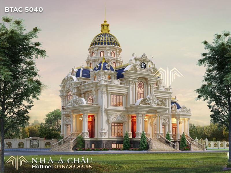 Lâu đài kiến trúc Pháp
